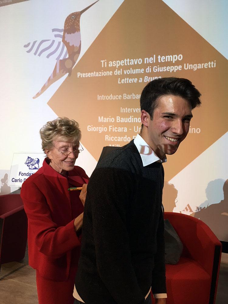 Bruna Bianco con Gabriele Druetta